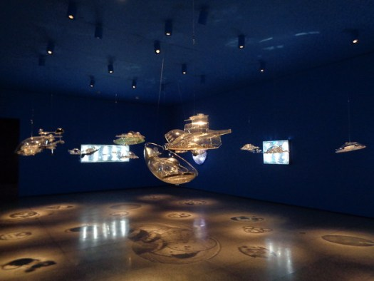 The Hydrospatial City by Gyula Kosice. The Museum of Fine Arts, Houston
