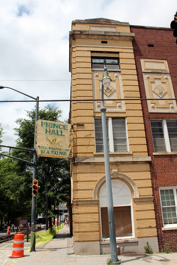 Atlanta  Sweet Auburn Prince Hall Masonic Temple  Flickr