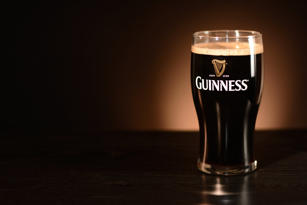 Pint of Guinness Glory  Shot 1250th f22 ISO 200 50mm