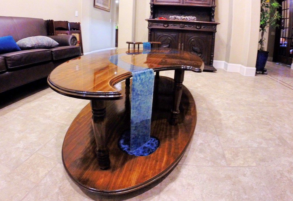Epoxy Tables  Tables made from UltraClear epoxy www