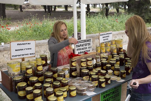 Fresh honey from Rhodes