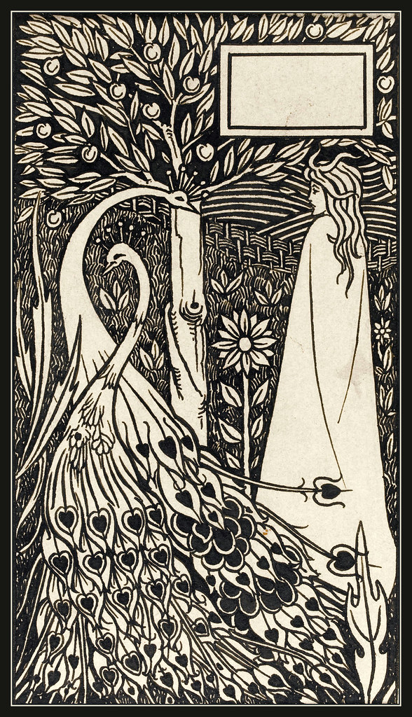 Original Drawing Aubrey Beardsley Quot Le Morte D Arthur X