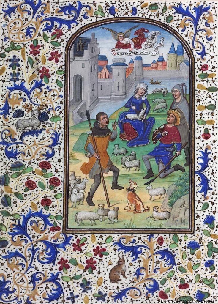 Libro de horas de Leonor de la Vega siglo XV  Libro de