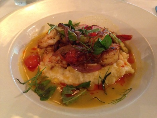 Shrimp and Grits, Commander's Palace, New Orleans