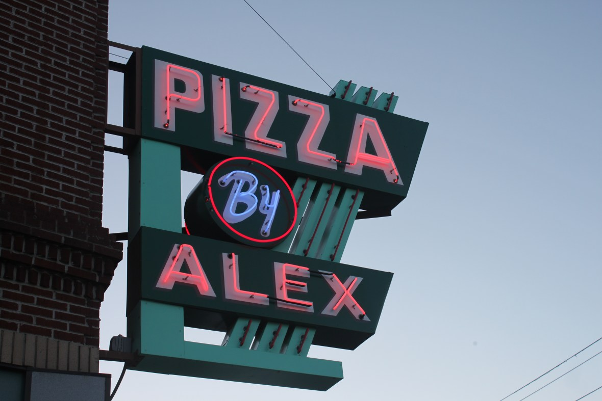 Pizza by Alex - 93 Alfred Street, Biddeford, Maine U.S.A. - November 4, 2015