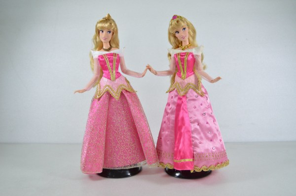 Deluxe Princess Aurora Dolls Disney Store UK US versi