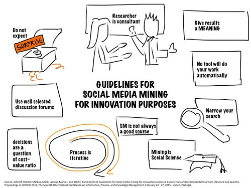 Guidelines for social media mining for innovaition purpose