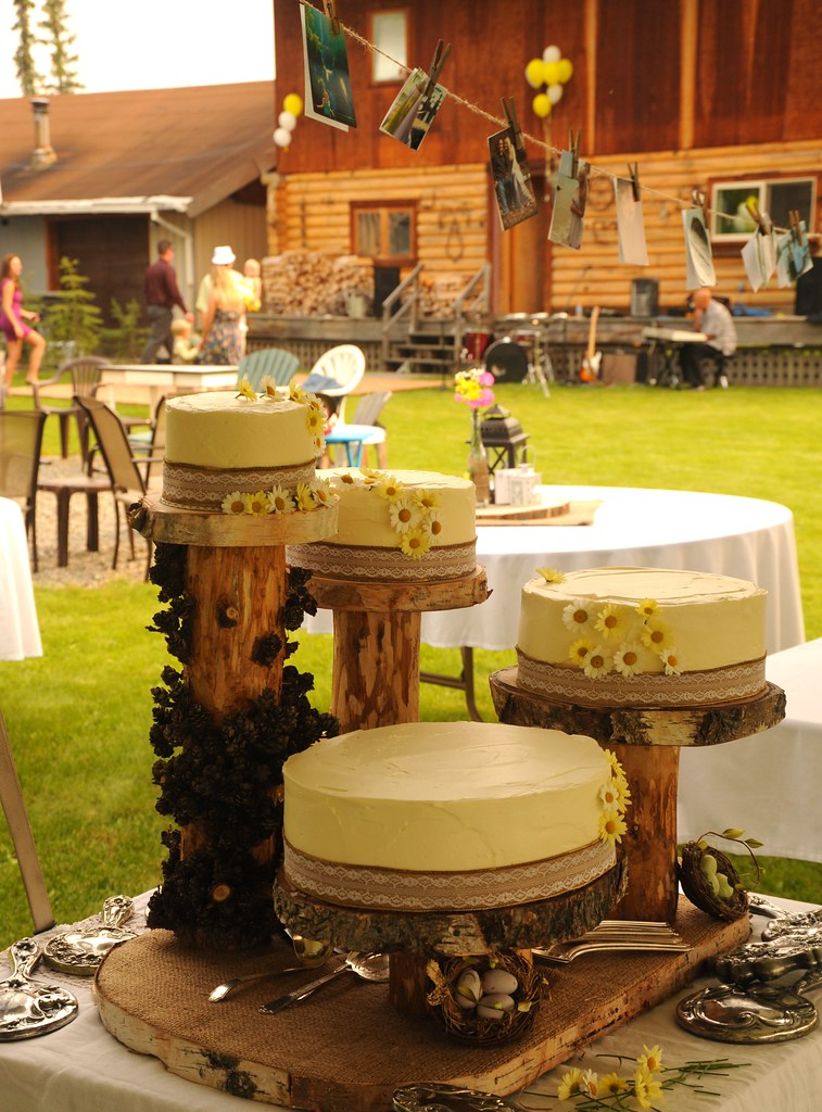 Rustic Wedding Table Centerpieces