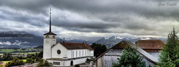 Premières neiges 2013 sur les Préalpes fribourgeoises ce matin / First snow, Fall 2013 on the Fribourg Alps this morning