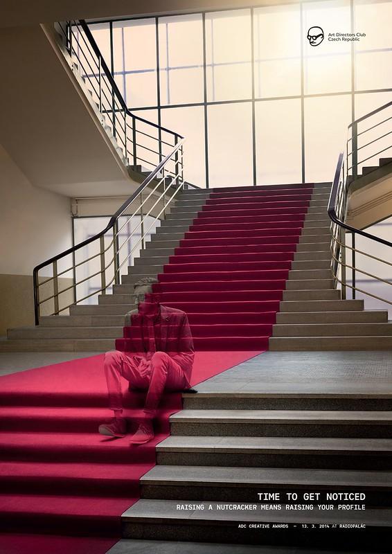 Club des DA - Man stairs