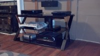 Media Stand | Media Stand. 4 ft long 1 ft 10 inches tall ...
