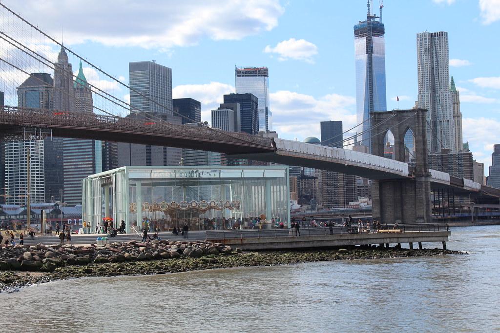 Brooklyn  Brooklyn Bridge Park Janes Carousel  Janes Ca  Flickr