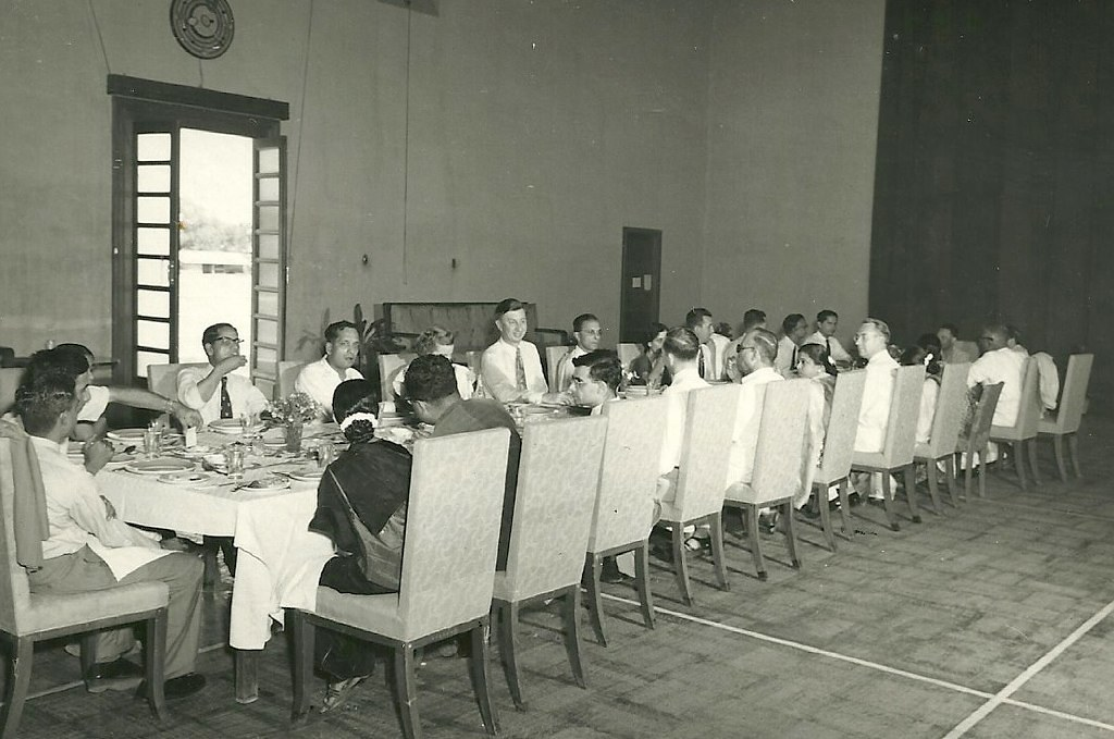 Baroda 1951  Luncheon at the Polo Club in honor of Mr