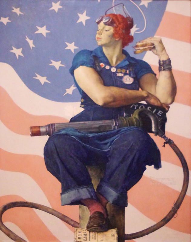 Rosie the Riveter, Crystal Bridges Museum of American Art, Bentonville, Arkansas, May 19, 2012