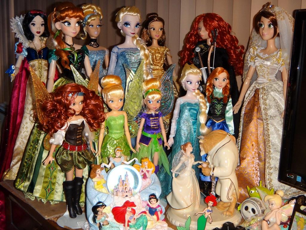 My Desktop Disney Doll Display  Jakks Pirate Fairy Tinker  Flickr