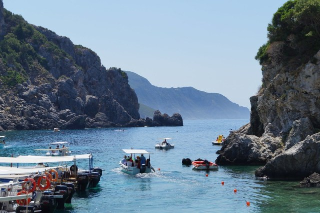 Relax by the Corfu seaside