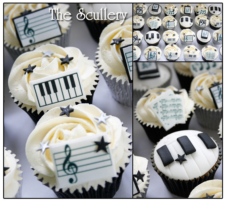 Musical Theme Cupcakes The Scullery Louise Flickr