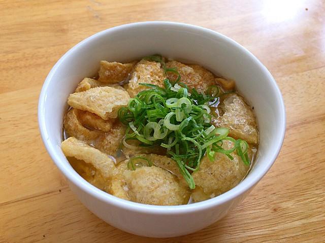 鶏油スープ
