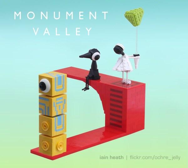 Lego Monument Valley Enjoyed Playing