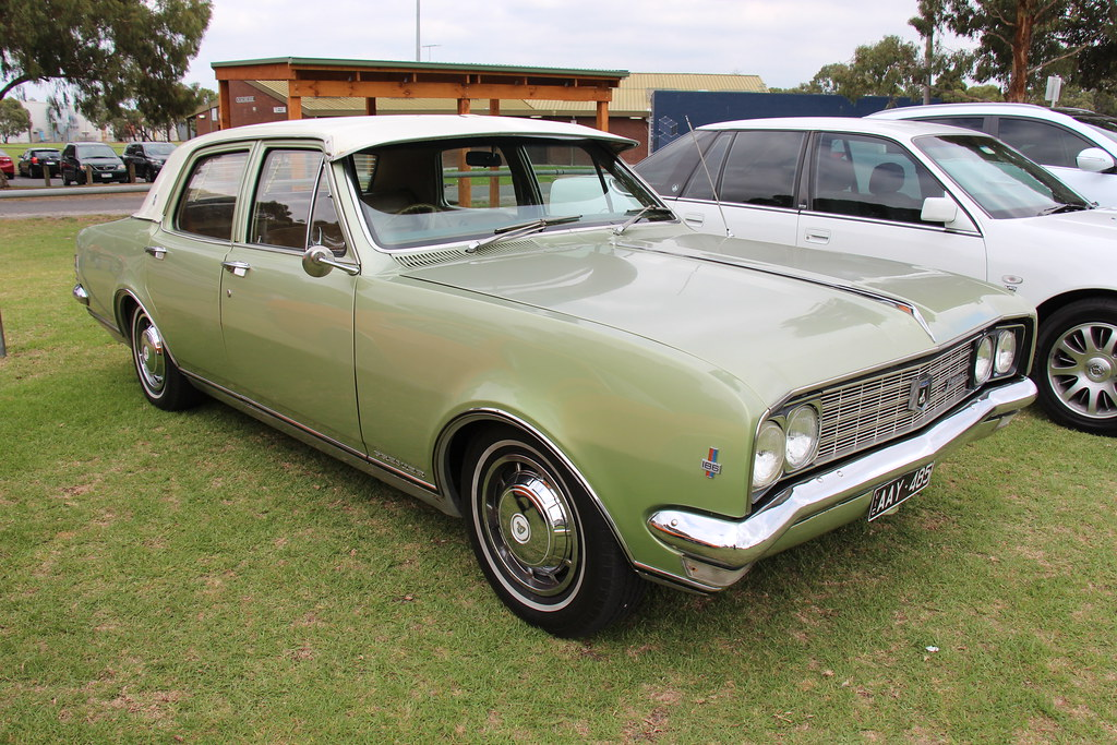 1969 Holden HT Premier Sedan  Seamist Green with a
