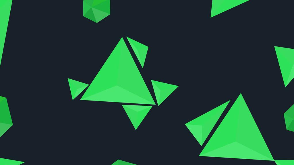 3d World Wallpaper World 2d Triangle Wallpaper Nils Ze Flickr
