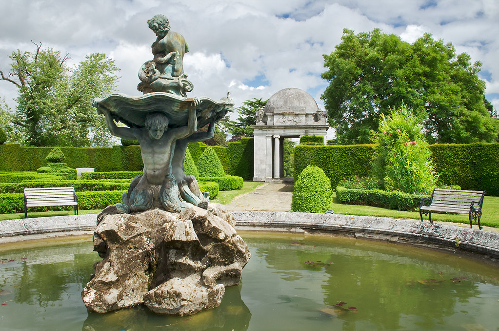 Water in English Gardens 6 of 33  Fountain in Italinate  Flickr