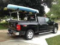 A Rack And Truck Bed Cover On A Chevy/GMC Silverado/Sierra