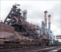 Ilyich Steel, blast furnaces | On the blast furnace ...