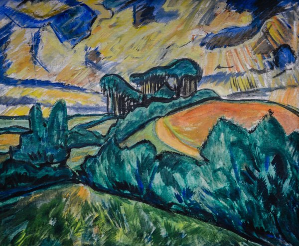Erich Heckel - Landscape In Holstein 1913 Stdel Art