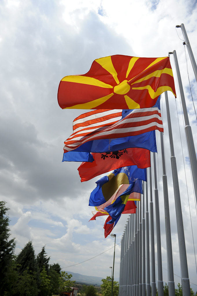 Flying high  PEPELISHTE Macedonia  The flags of the