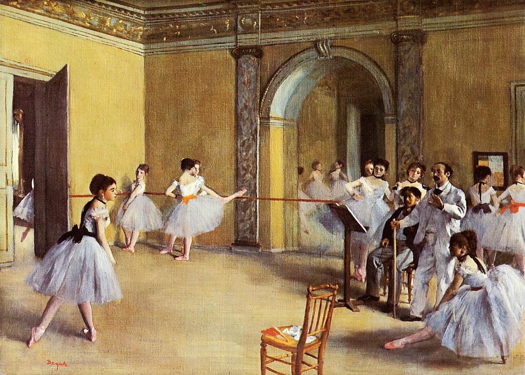 Edgar Degas Il foyer della danza all Opra  Edgar Degas I  Flickr