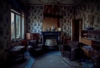 The living room (Villa Wallfahrt) | An abandoned villa in ...