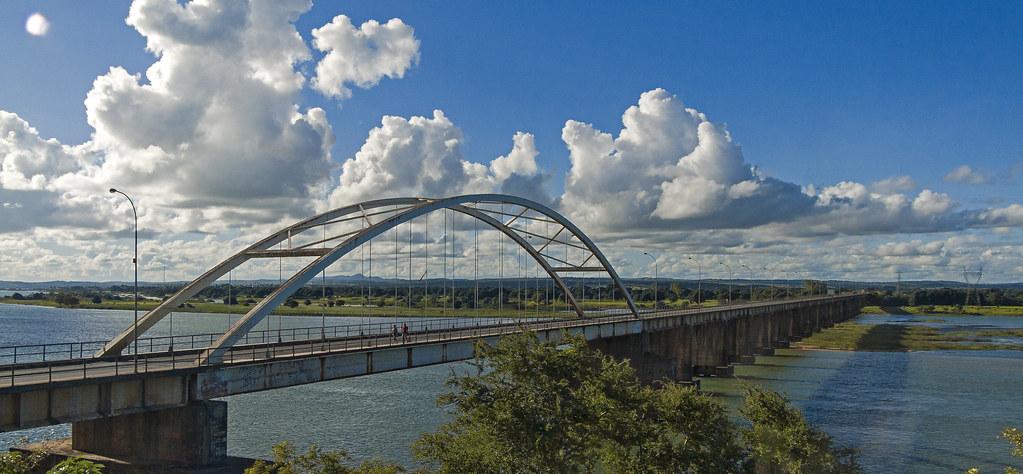 Ponte rodoferroviria sobre o rio So Francisco PropriP  Flickr