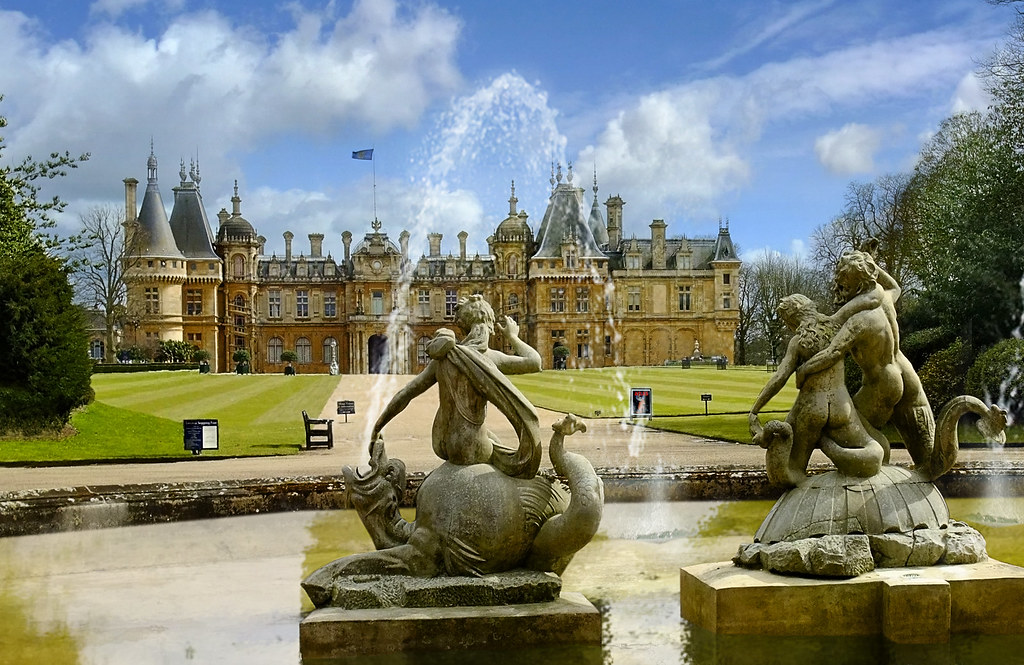 Waddesdon Manor Waddesdon Manor Is A Country House In