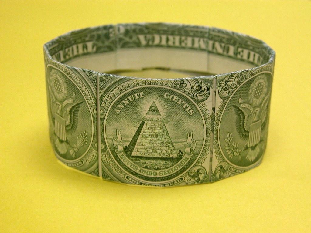 diagram origami bracelet stratos bass boat wiring dollar bill design graciela vicente diagrams
