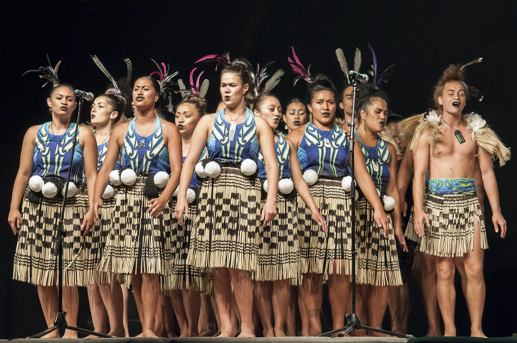Haka Taparahi Mori New Zealand  Festival de Folklore