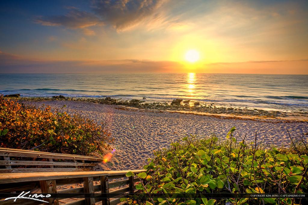 The Amazing Wallpaper Hd East Coast Sunrise From Carlin Park Jupiter Florida Flickr