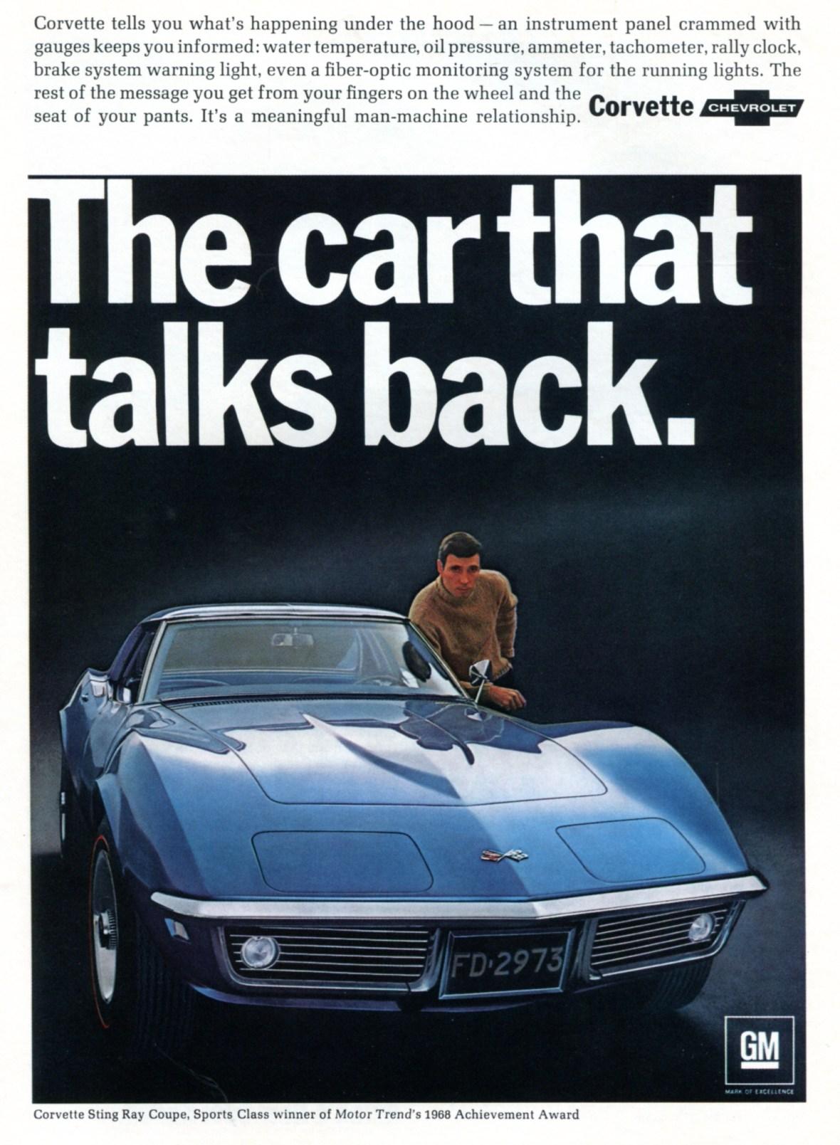 1968 Chevrolet Corvette Sting Ray Coupe