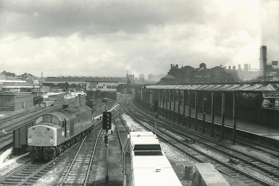 Manchester Exchange and Manchester Victoria Stations