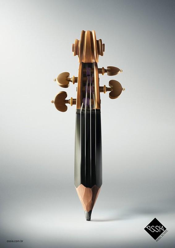 Ossia - Pencil Violin