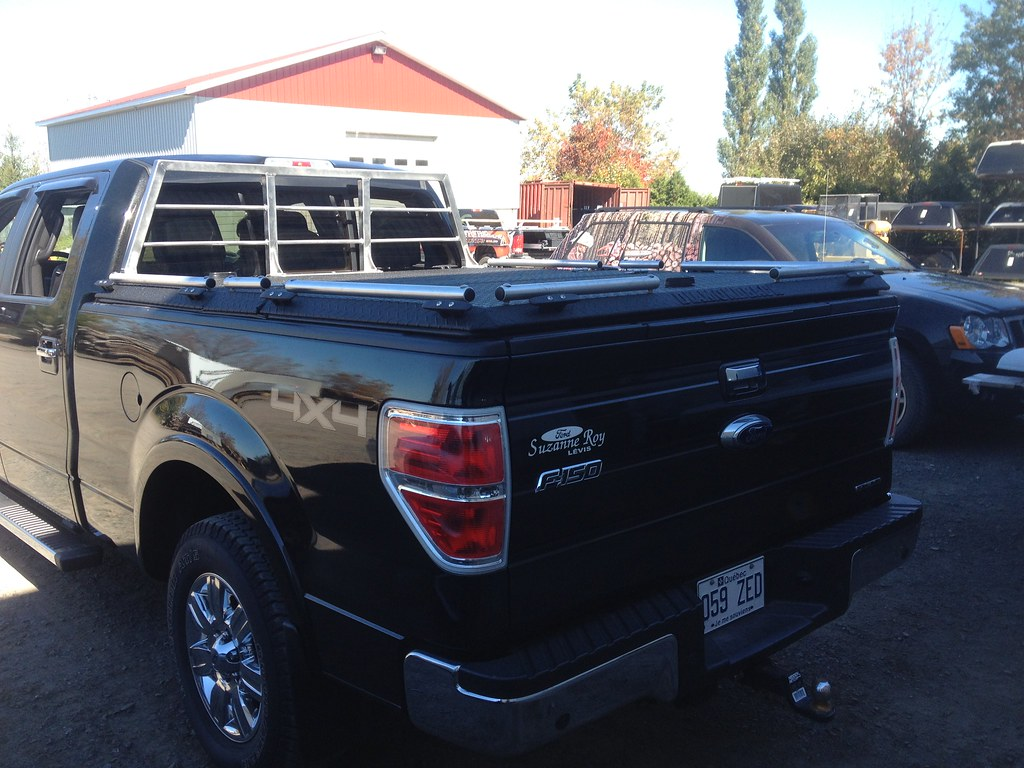 f150 with headache rack