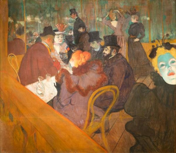 """"""" Moulin Rouge"""" Henri De Toulouse-lautrec"""