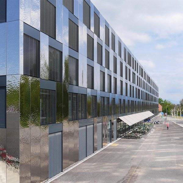 Lausanne Unil Opolis University Buildi