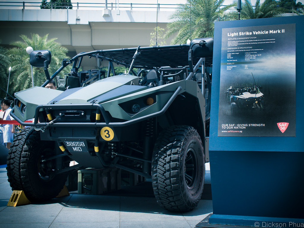 Spider Light Strike Vehicle Mk II Singapore Army