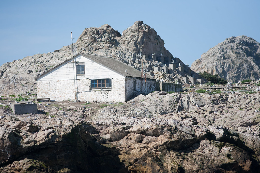 Farallon Islands Generator House  In the background you ca  Flickr