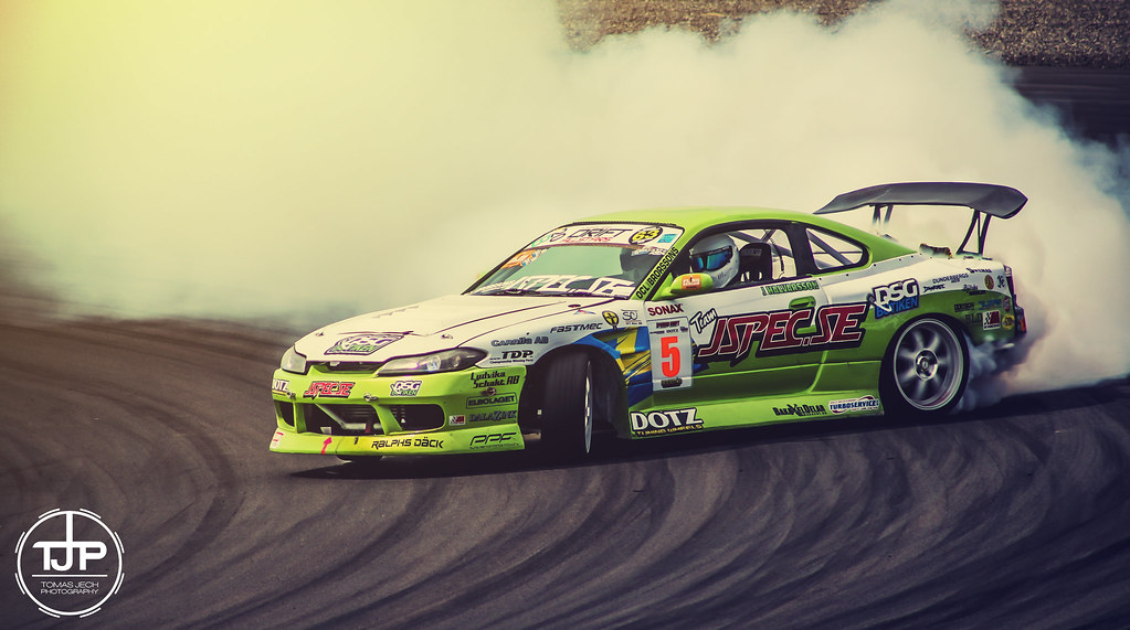 Nissan Silvia S15 Drift On Gatebil Tom Jech Flickr