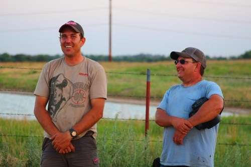 Peter and Farmer Aaron.