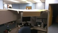 Kalamazoo, Michigan - Cubicle Roof | Two of my co-workers ...