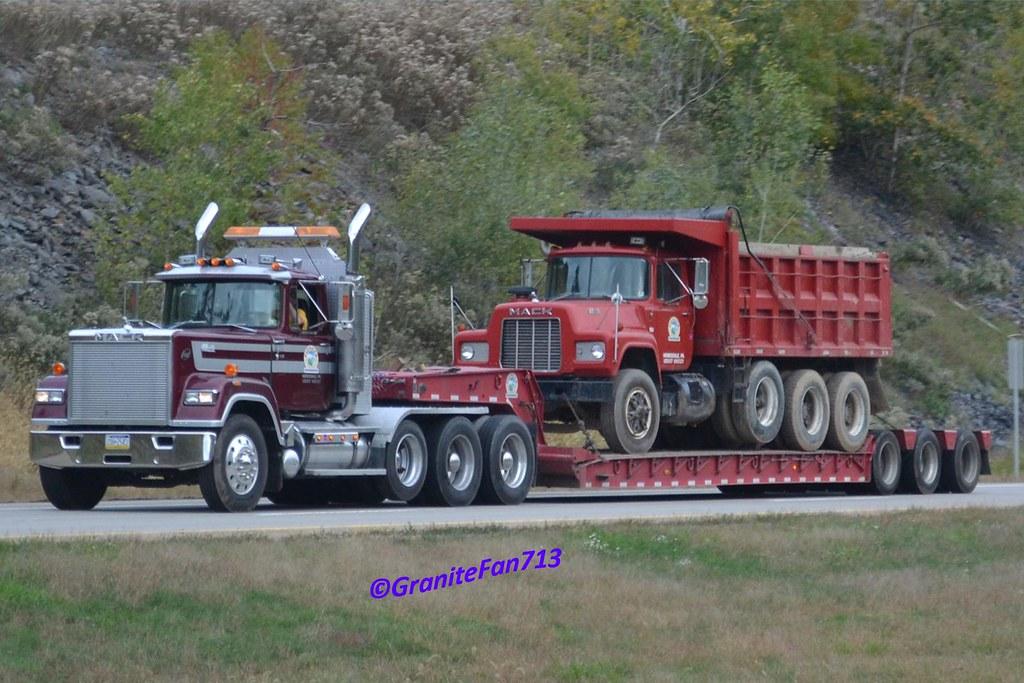Mack Superliner Lowboy Tractor