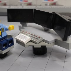 White Aeron Chair Crate And Barrel Slipcover Police Dispatch Center - Console | Lego Forc… Flickr